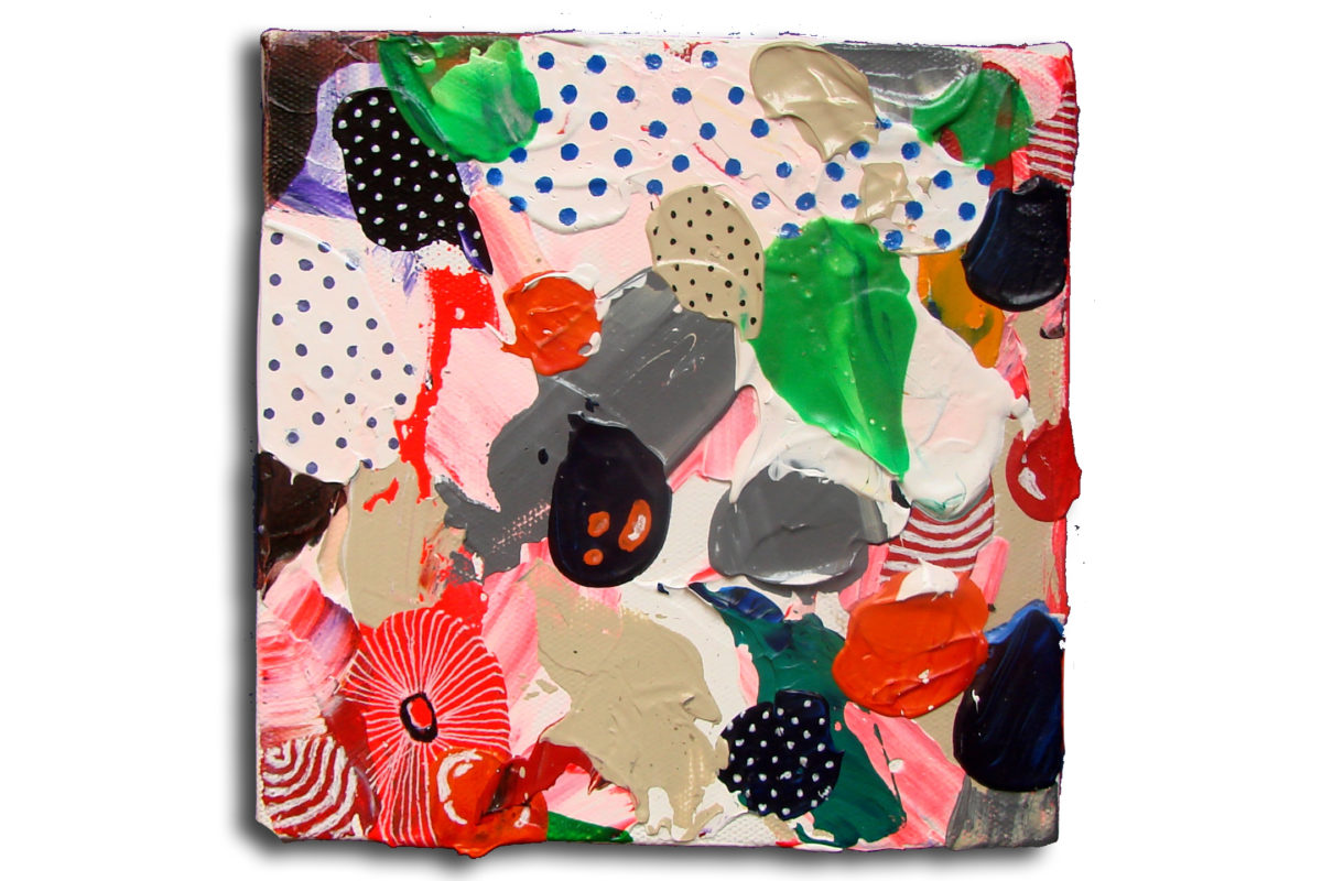 12 Freak Shake - Acrylic on Canvas- Pop Art copy
