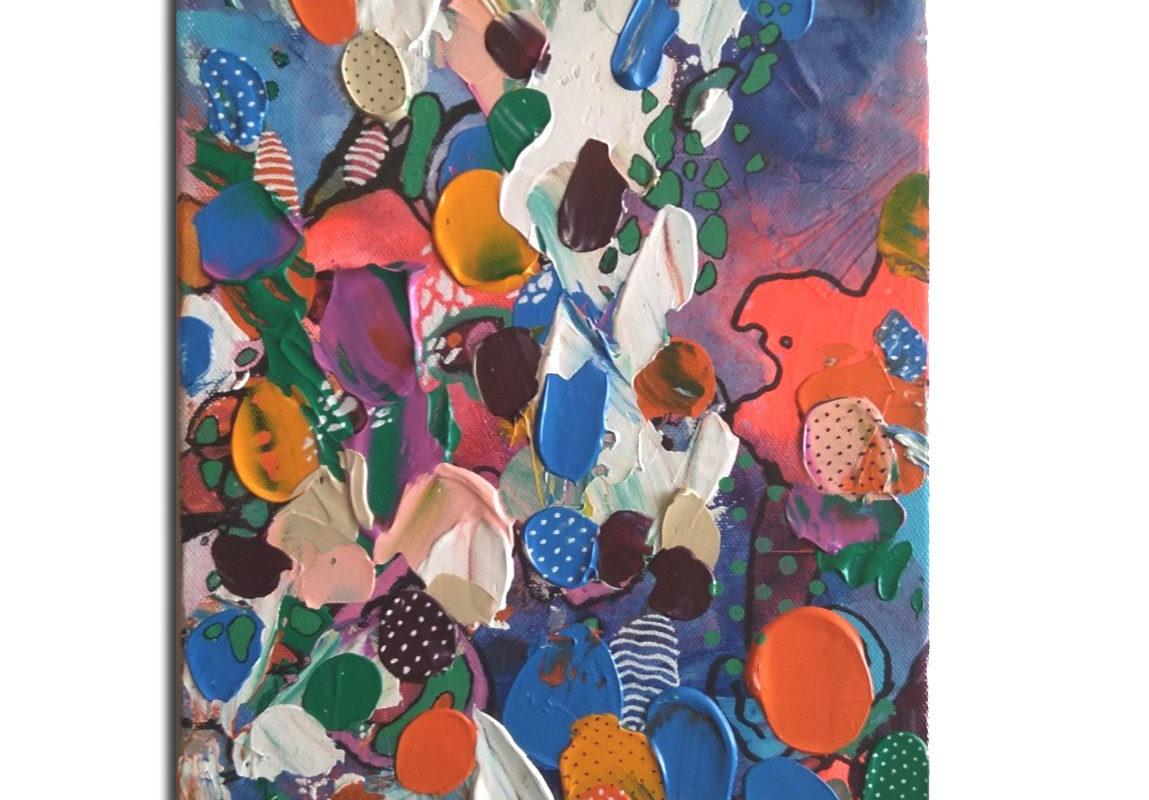 25 Freak Shake - Acrylic on Canvas- Pop Art