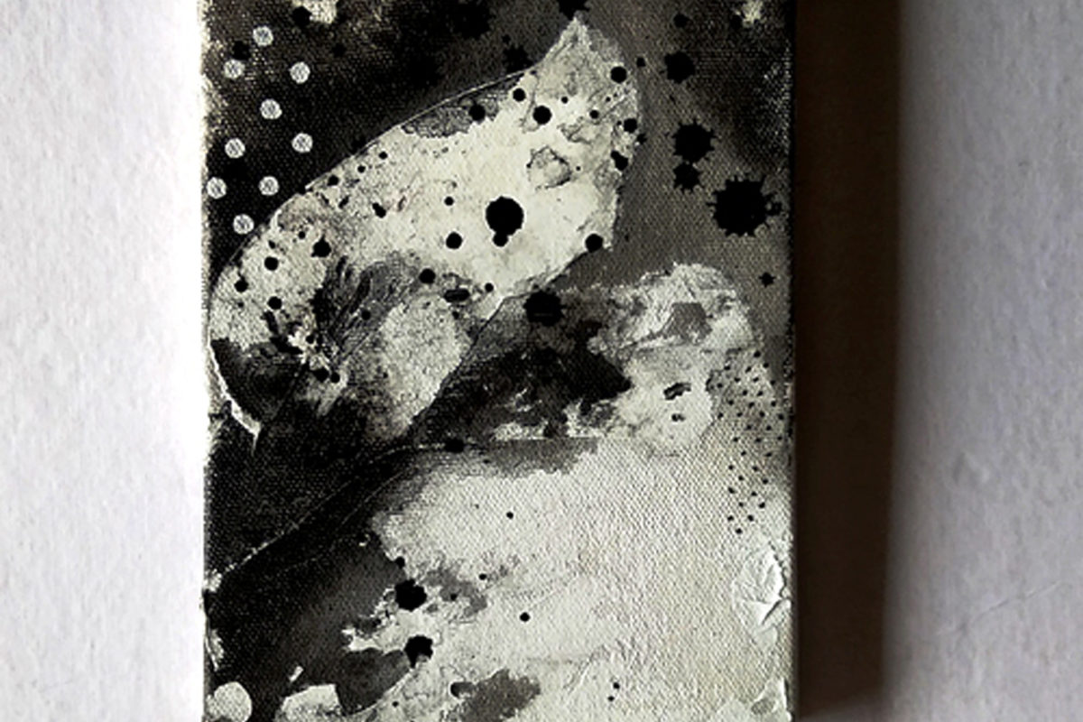 New Life, Alien landscapes. Day 14 | 5x7in | Ink on Canvas