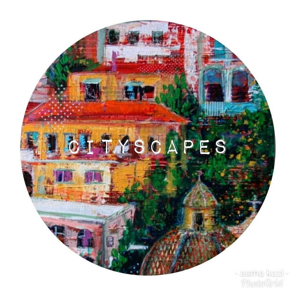 Cityscapes by Asma Kazi