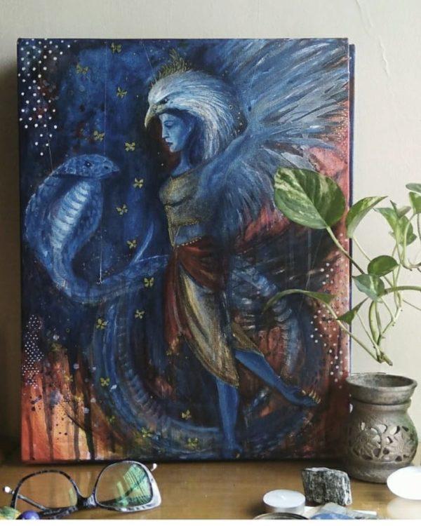 Cosmic Dance by Asma Kazi