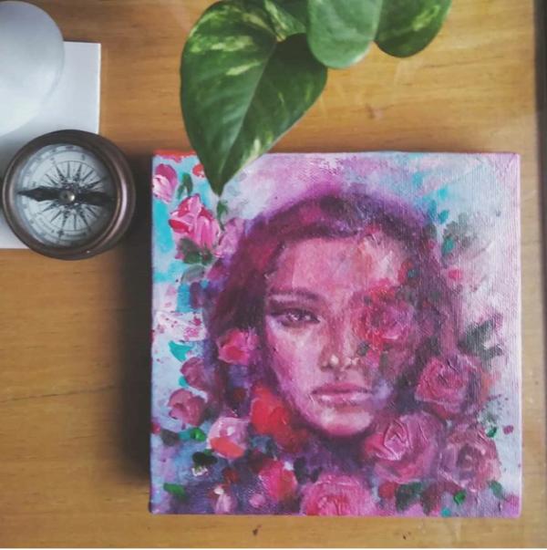 Rosa. Portrait Asma Kazi